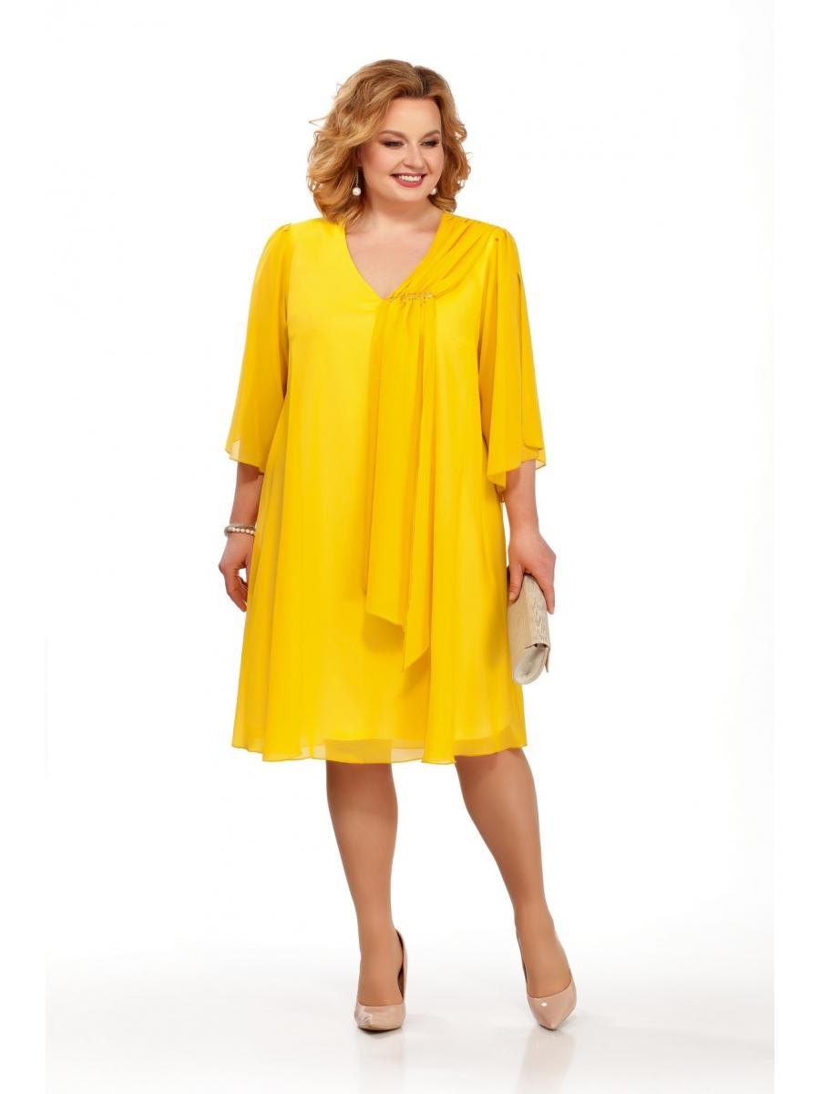 желтое платье большого размера фото время