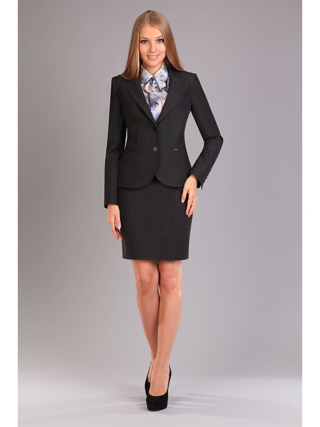 костюм женский жилет и юбка с доставкой